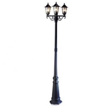 3 lempų lauko šviestuvas Elega