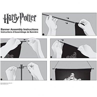 """Hogwarts"" vėliava ant sienos 2"