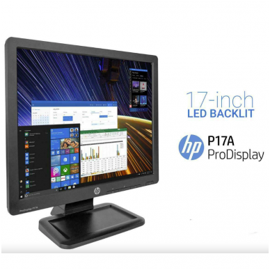 HP ProDisplay P17A monitorius