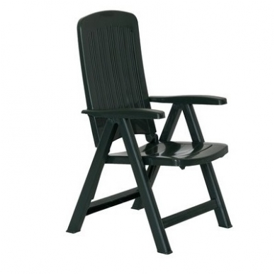 Lauko plastikinė kėdė