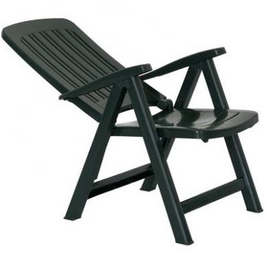 Lauko plastikinė kėdė 2