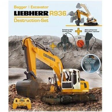 """Liebherr R936"" žaislinis ekskavatorius 2"
