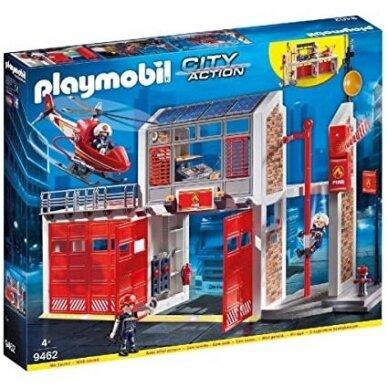 """,,Playmobil city action"""" gaisrinė"""