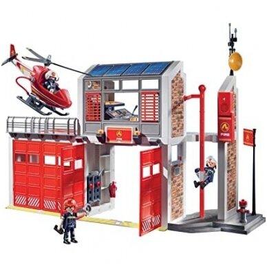 """,,Playmobil city action"""" gaisrinė 2"""