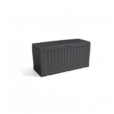 Rakinama plastikinė dėžė 270L 2