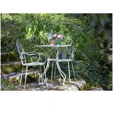 Senovinio stiliaus stalas ir 2 kėdės 3