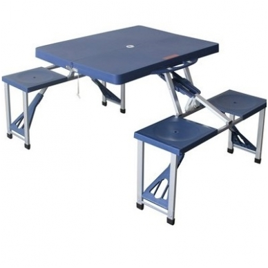 Sulankstomas lauko stalas